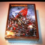 Unopened Warhammer Armies Empire Battalion box waiting assembly and painting