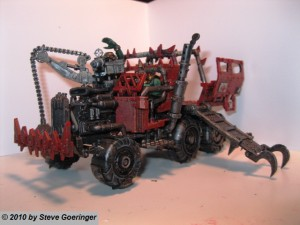 Warhammer Armies Ork Trukk 14 300x225 Warhammer Armies: Ork Trukks    Progress!