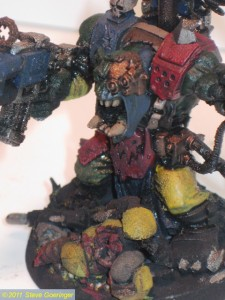 Ork Warboss BigMek110 225x300 Warhammer Armies WIP: Army Lists and Orks
