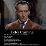 Who knew that Peter Cushing was a wargamer? Wonder if he ever played Warhammer or made any Warhammer Armies...